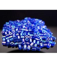 Японский бисер Matsuno 2CUT 11/0 цвет синий