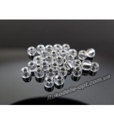 Бисер ювелирный № 3-29 круглый 8/0 серебро 500 грамм