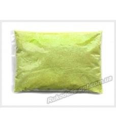 Блестки Глиттер 1/64 цвет желтый флуоресцентный AB SP-12