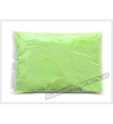 Блестки Глиттер 1/64 цвет зеленый флуоресцентный AB SP-13