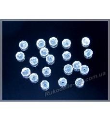 Бусины хрустальные (мод. 165) рондель 3 мм crystal