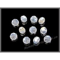Бусины хрустальные (мод. 165) рондель 6 мм crystal AB