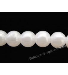 Бусины жемчуг акриловые 12 мм белые
