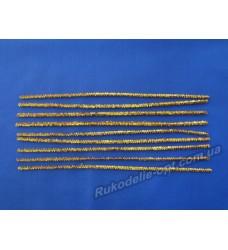 Синельная проволока цвет золотистый