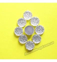 Камни кабошоны All Star круг 10 мм цвет crystal 1000 шт.