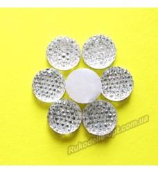 Камни кабошоны All Star круг 12 мм цвет crystal 500 шт.