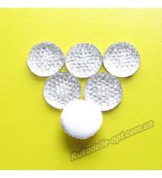 Камни кабошоны All Star круг 14 мм цвет crystal 500 шт.