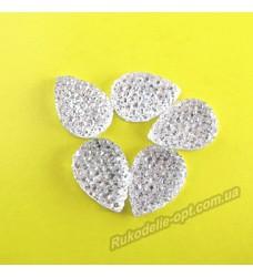 Камни кабошоны All Star капля 10*14 мм цвет crystal 1000 шт.