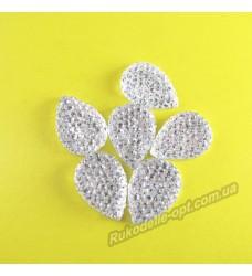 Камни кабошоны All Star капля 8*13 мм цвет crystal 1000 шт.