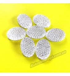 Камни кабошоны All Star овал 8*10 мм цвет crystal 1500 шт.