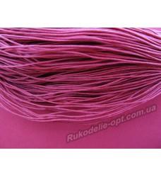 Вощеный шнур красный 1 мм.