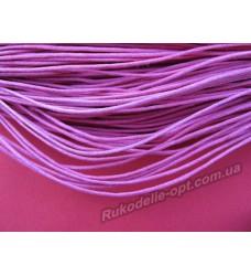 Вощеный шнур розовый 1,5 мм.
