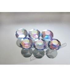 Стразы акриловые SS 34 цвет crystal AB 2000 шт.