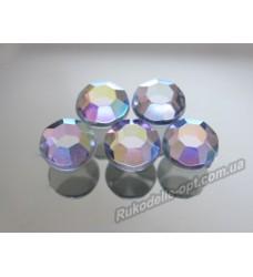 Стразы акриловые SS 40 цвет crystal AB.