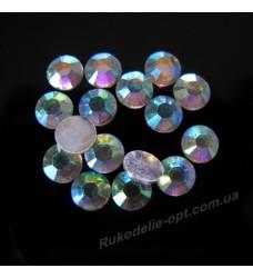 Стразы пластиковые SS 30 цвет crystal AB 4000 шт.