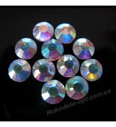 Стразы пластиковые SS 40 цвет crystal AB 1000 шт.