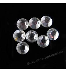 Стразы пластиковые SS 40 цвет crystal 1000 шт.