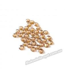 Стразы пластиковые SS 20 цвет золото 10000 шт.