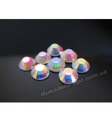 Стразы стеклянные SS 30 цвет crystal AB