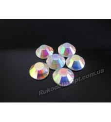 Стразы стеклянные SS 40 цвет crystal AB