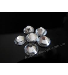 Стразы стеклянные SS 34 цвет crystal