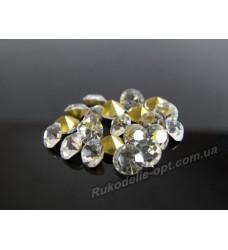 Стразы конусные стеклянные SS 20 цвет crystal