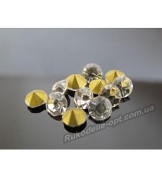 Стразы конусные стеклянные SS 30 цвет crystal