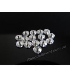 Стразы стеклянные пришивные SS 16 цвет crystal