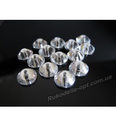 Стразы стеклянные пришивные SS 20 цвет crystal