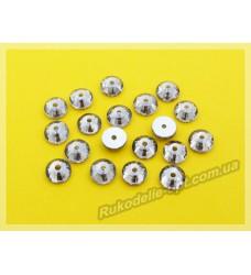 Стразы стеклянные пришивные SS 20 цвет гематит
