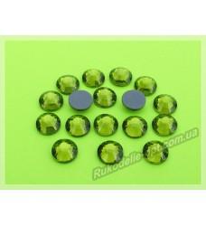 Термостразы SS 30 цвет оливковый