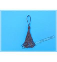 Кисточки для штор коричневые 14 см 100 шт