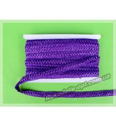 Тесьма Самоса 19 мм темно фиолетовая 20 ярдов