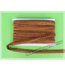 Тесьма Самоса 19 мм коричневая 20 ярдов