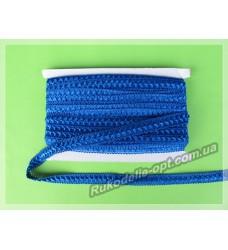 Тесьма Самоса 19 мм синяя 20 ярдов
